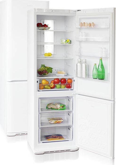 лучшая цена Холодильник Бирюса Б-360NF, двухкамерный, белый