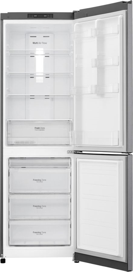 Холодильник LG, GA-B419SLJL, серебристый LG
