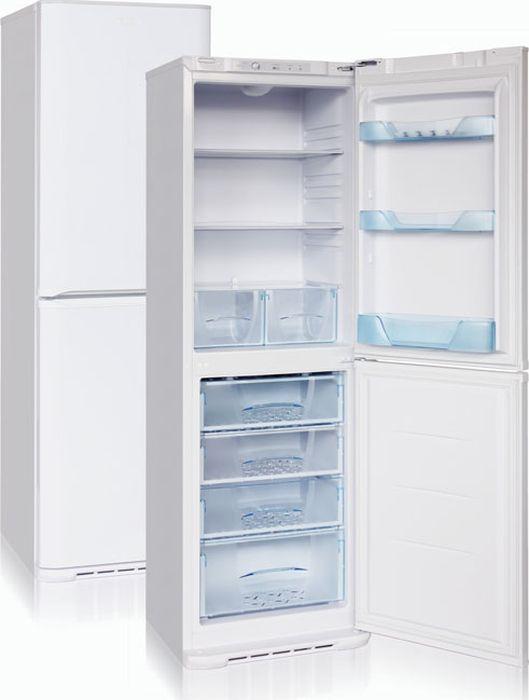 Холодильник Б-M131, двухкамерный, серый металлик Бирюса