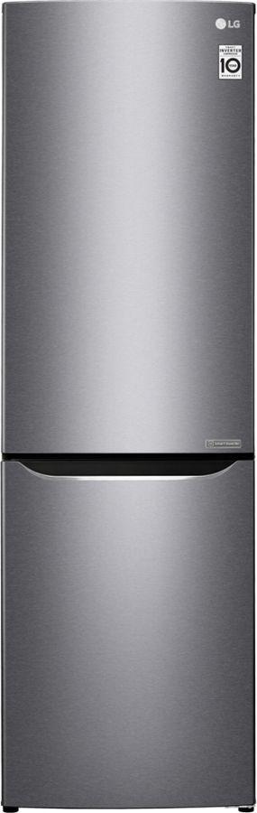 Холодильник LG, GA-B419SLJL, серебристый