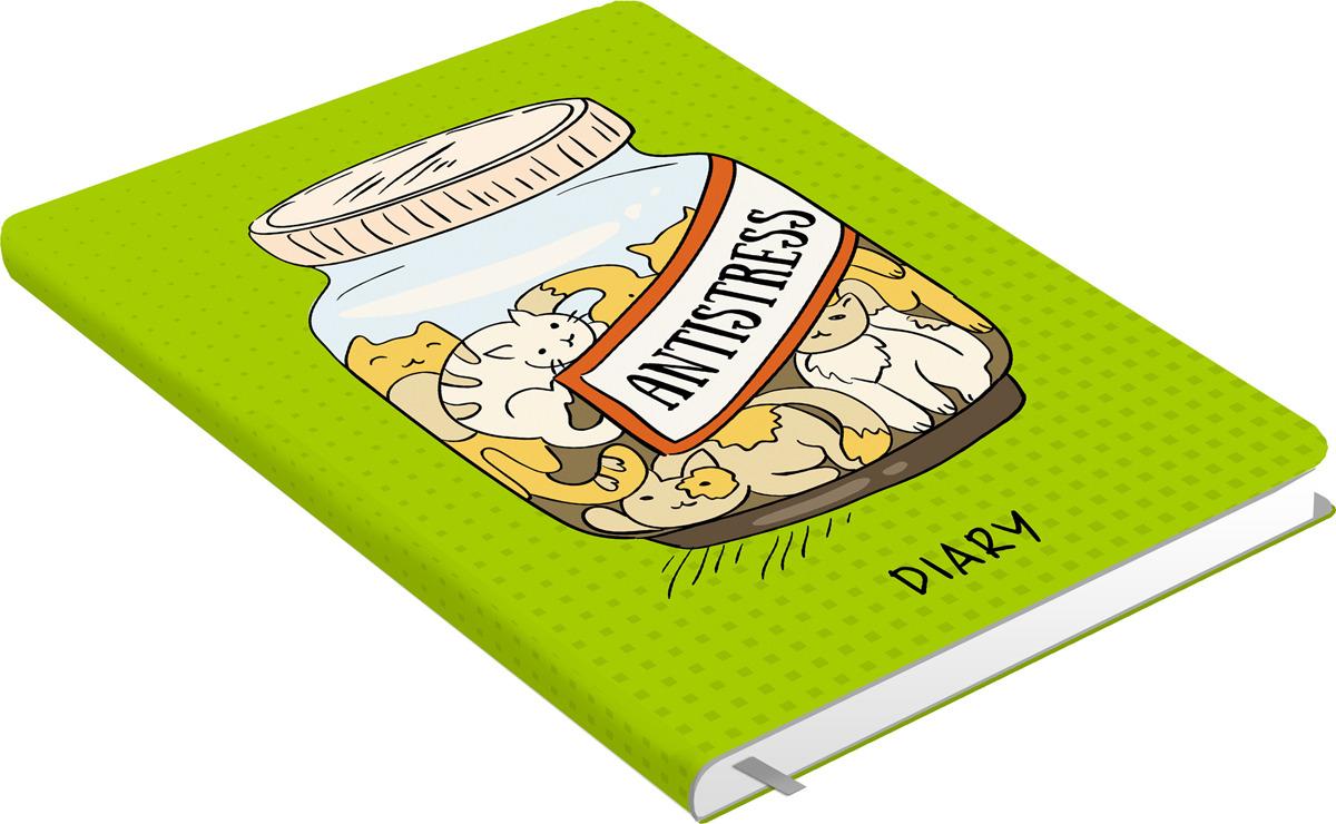 Ежедневник Listoff Всюду кошки. Дизайн 3, 128 листов, формат А5 ежедневник listoff графика стиль и цвет а5 128 листов