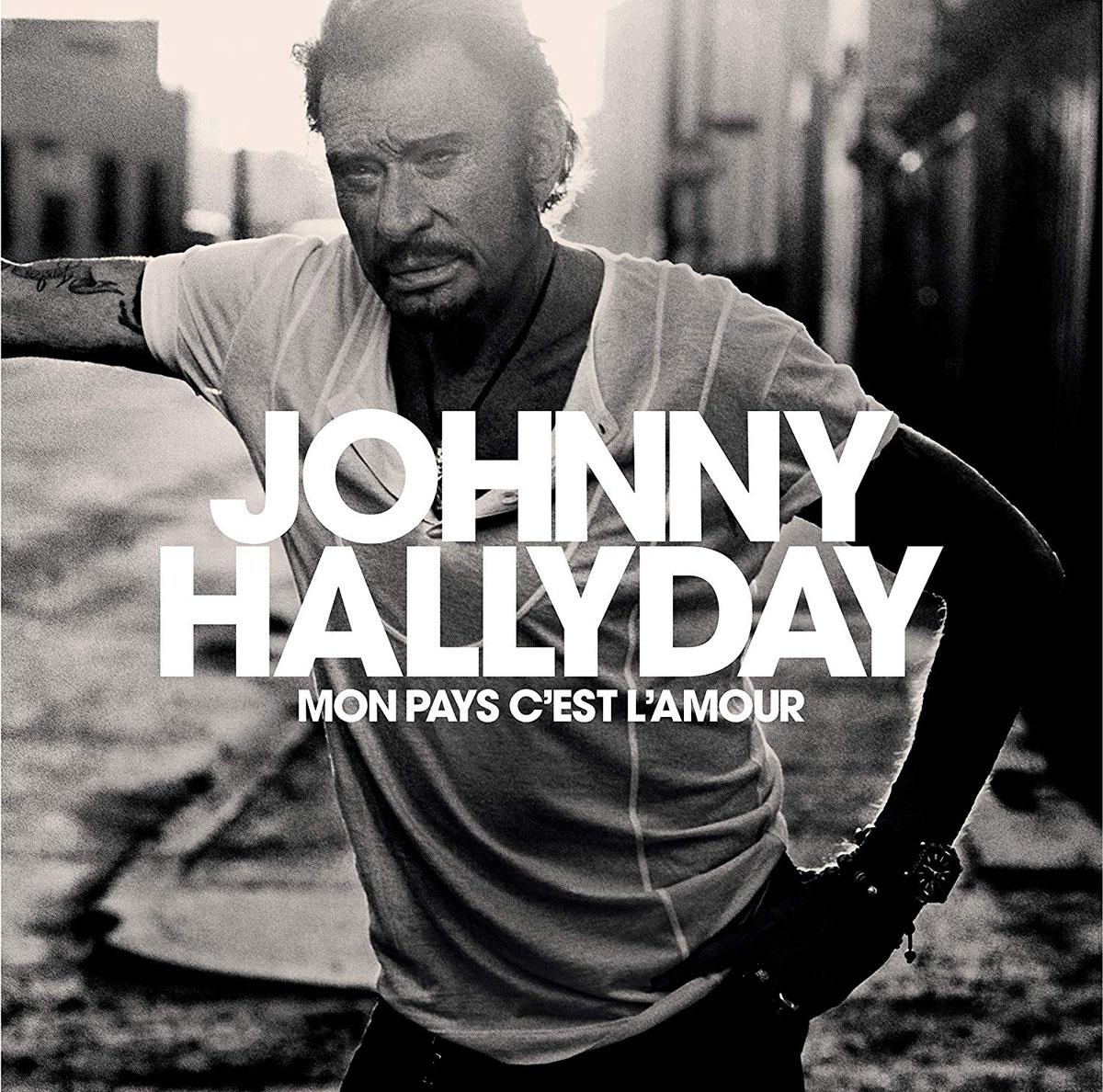 Джонни Холлидей Johnny Hallyday. Mon Pays C'Est L'Amour (LP) джонни холлидей johnny hallyday born rocker tour concert au theatre de paris 2 lp