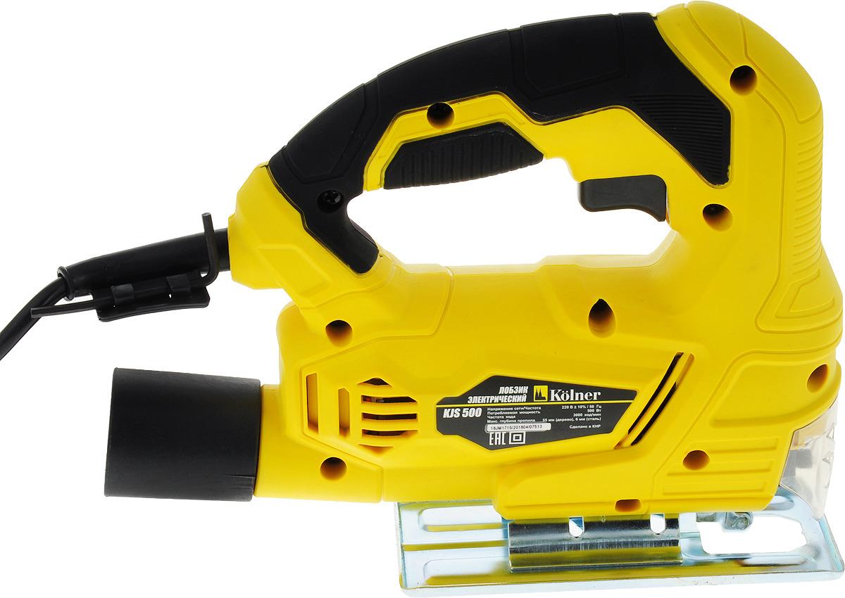 Электролобзик Kolner KJS 5004650067304465Лобзик имеет стандартный ключевой патрон для использования пильных полотен разного размера. Подошва изготовлена из листовой стали и наклоняется до 45° в обе стороны. Выключатель с функций фиксации во включенном положении. Крепление для ключа на сетевом кабеле. Переходник для подключения строительного пылесоса. Модель поставляется в цветной картонной коробке с двумя пильными полотнами, ключом и переходником. Рекомендуем!