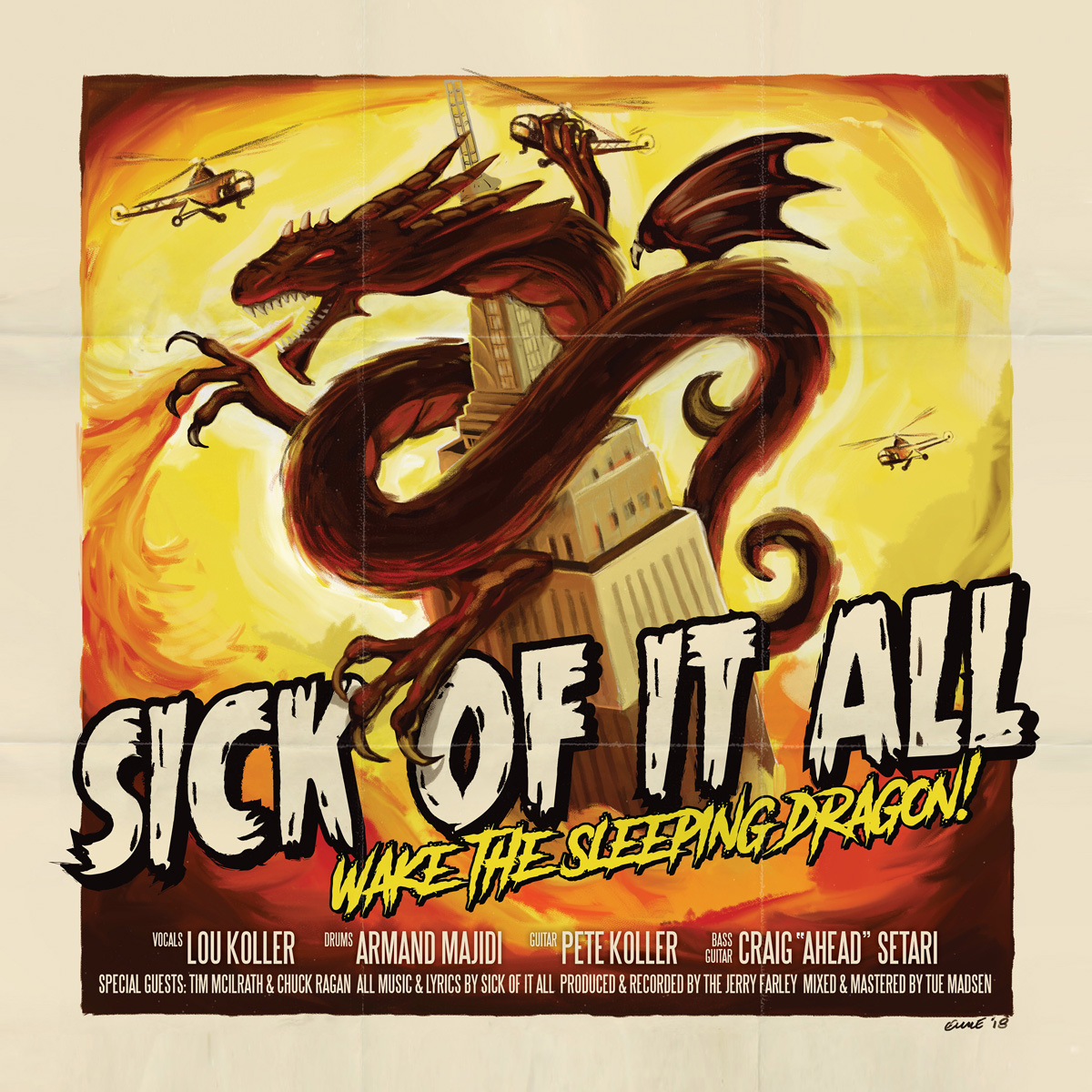 Sick Of It All Sick Of It All. Wake The Sleeping Dragon! (LP+CD)
