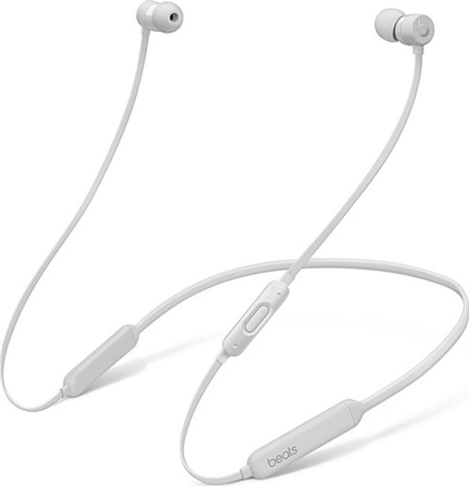 лучшая цена Беспроводные наушники Beats BeatsX Earphones, серебристый
