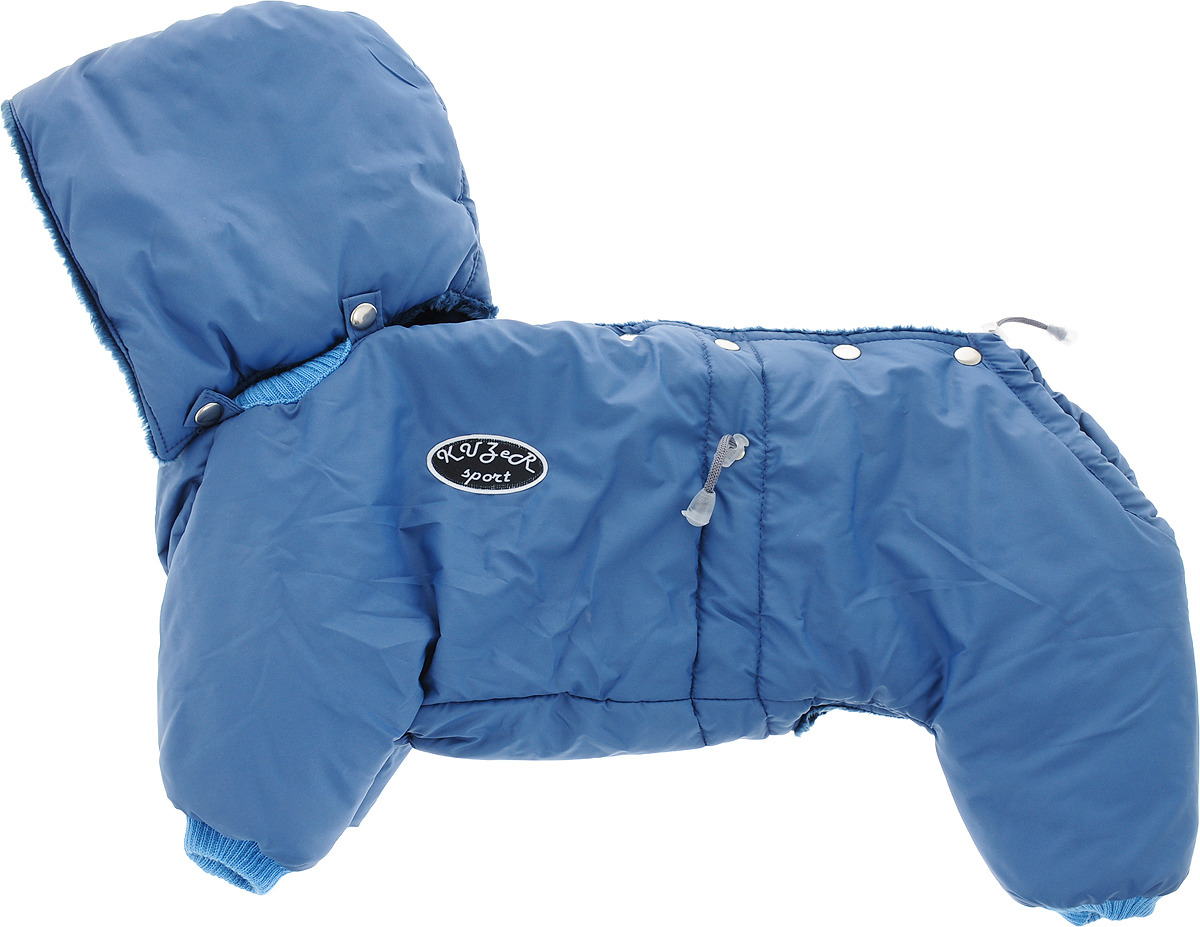 "Одежда для собак Kuzer-Moda ""Полярник"", комбинезон зимний, унисекс, KZ002768, индиго, размер ХL"