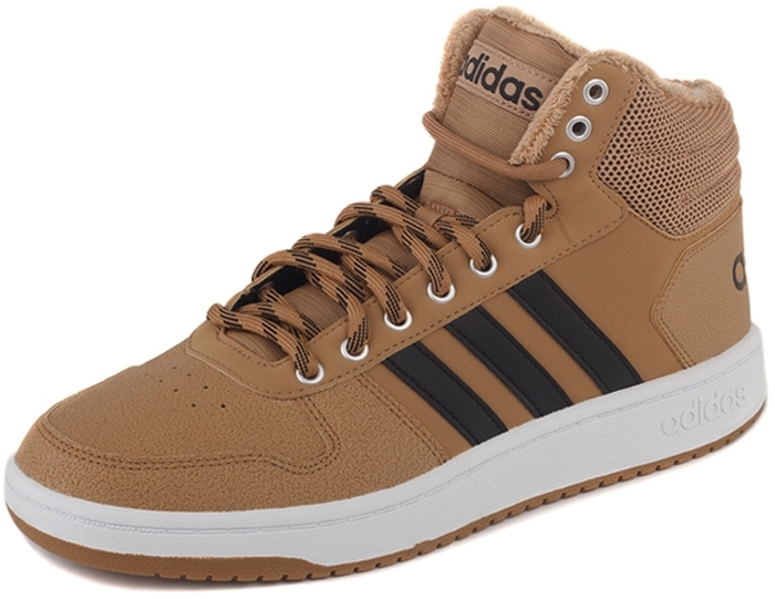 Кроссовки adidas Hoops 2.0 Mid недорго, оригинальная цена