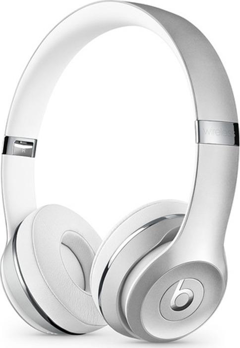 лучшая цена Беспроводные наушники Beats Solo3 Wireless, серебристый