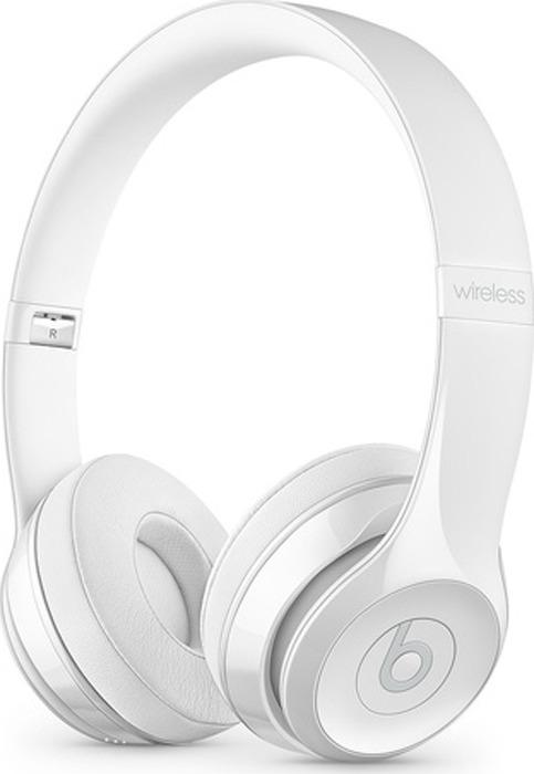 лучшая цена Беспроводные наушники Beats Solo3 Wireless, белый