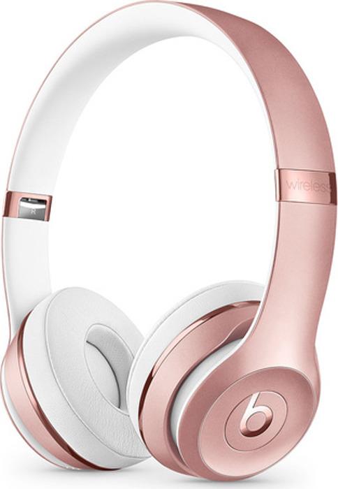 лучшая цена Беспроводные наушники Beats Solo3 Wireless, розовое золото