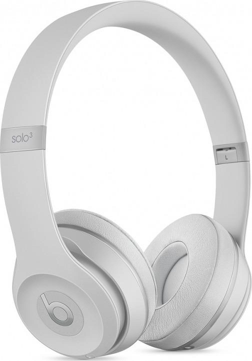 Беспроводные наушники Beats Solo3 Wireless, серебристый наушники uproar wireless