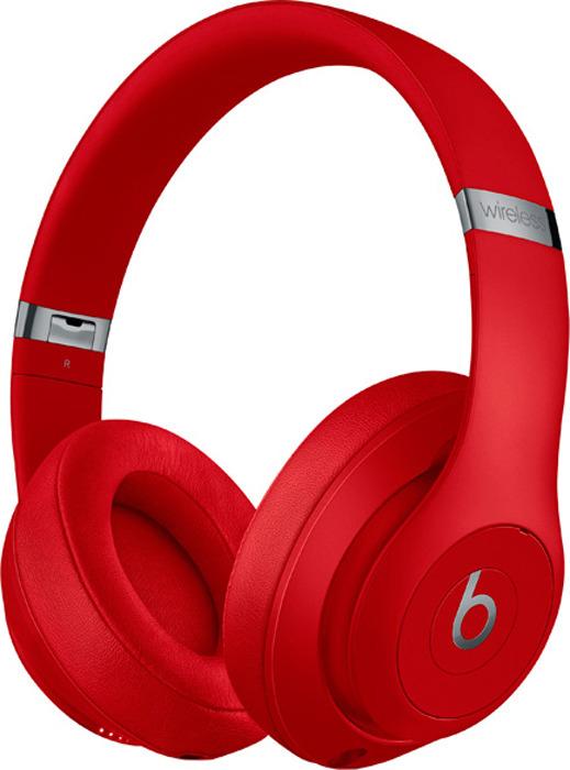 Беспроводные наушники Beats Studio3 Wireless, красный цена и фото