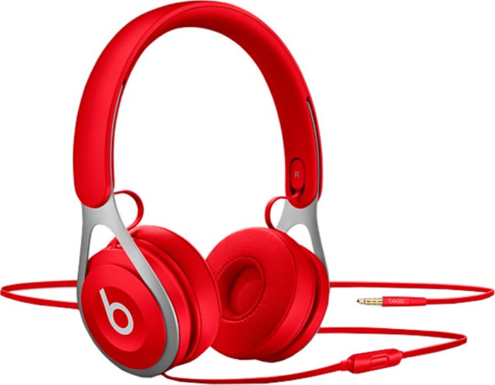 Наушники Beats EP On, Red наушники beats ep on red
