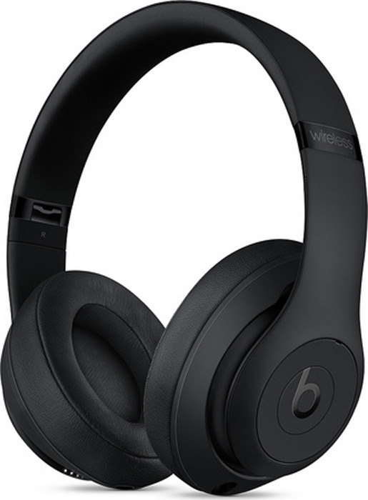 Беспроводные наушники Beats Studio3 Wireless, матовый черный цена и фото