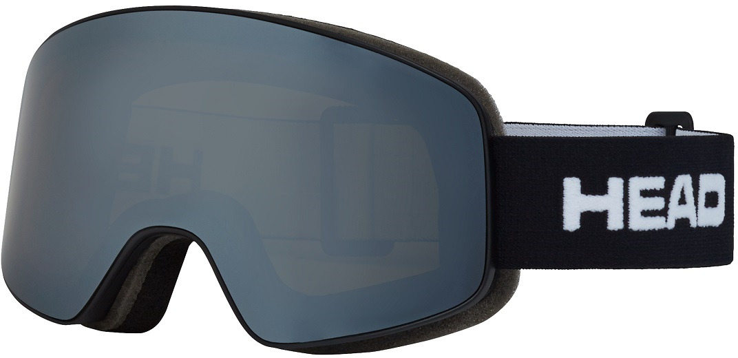 Маска горнолыжная Head Horizon Race + SpareLens, цвет: черный