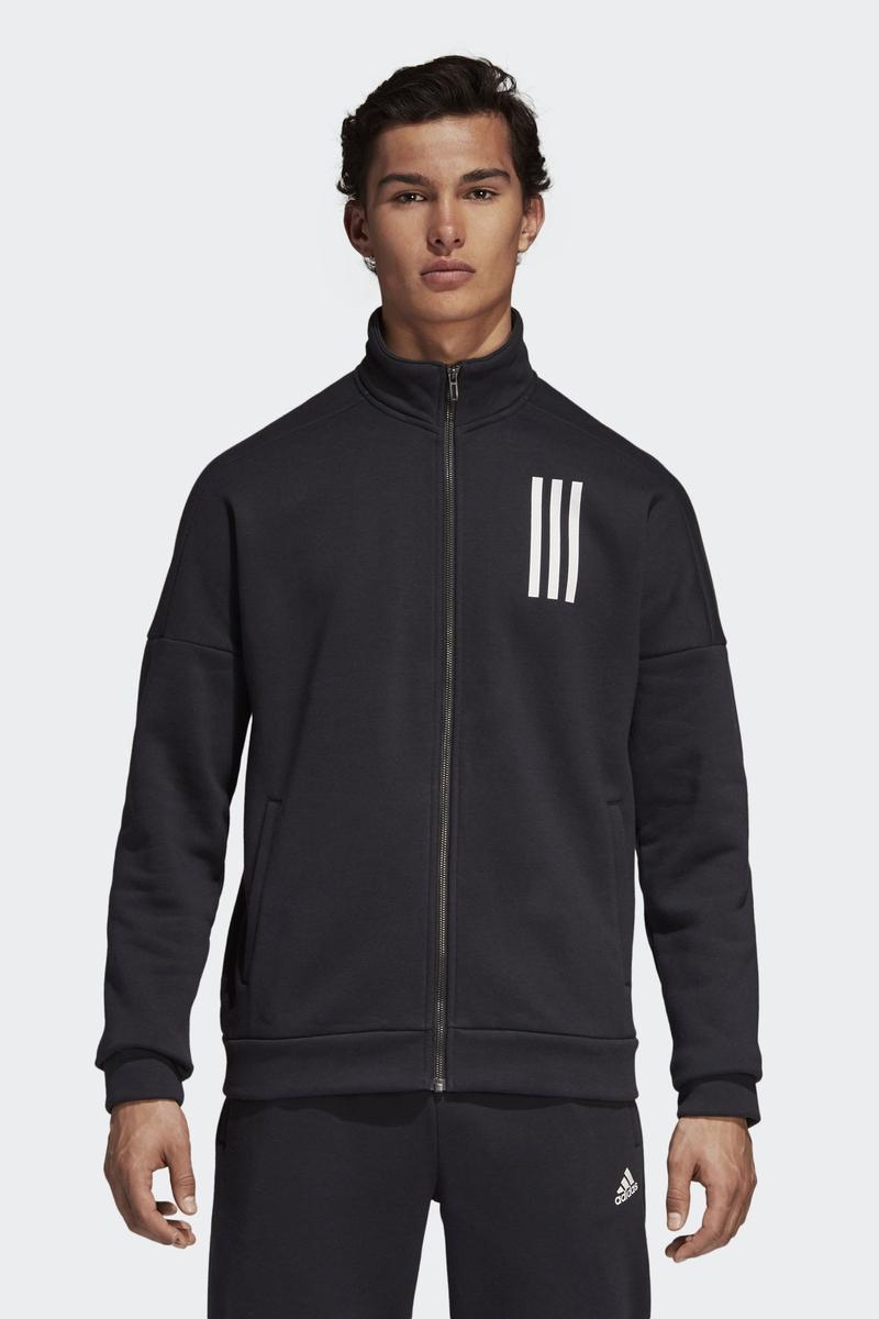 Толстовка мужская Adidas M Sid Ttop Fl, цвет: черный. DN8398. Размер XL (56/58)DN8398