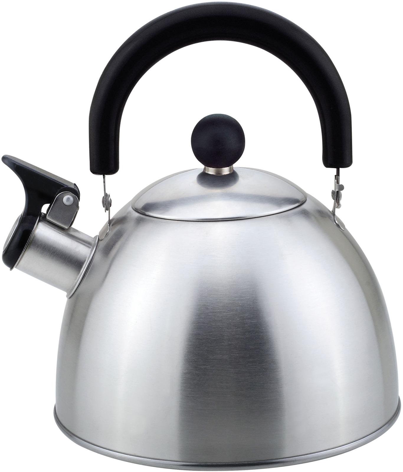 Чайник Mallony MAL-039-MP, матовый, со свистком, 2,3 л чайник mallony mal 105 n 3л нерж сталь цельнометал со свистком черный
