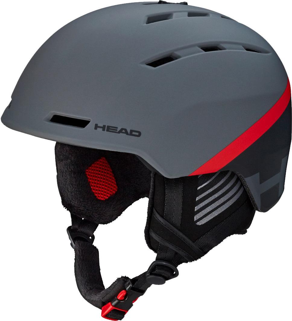 "Шлем для горных лыж и сноуборда Head ""Varius"", цвет: темно-серый. 324318. Размер M/L"