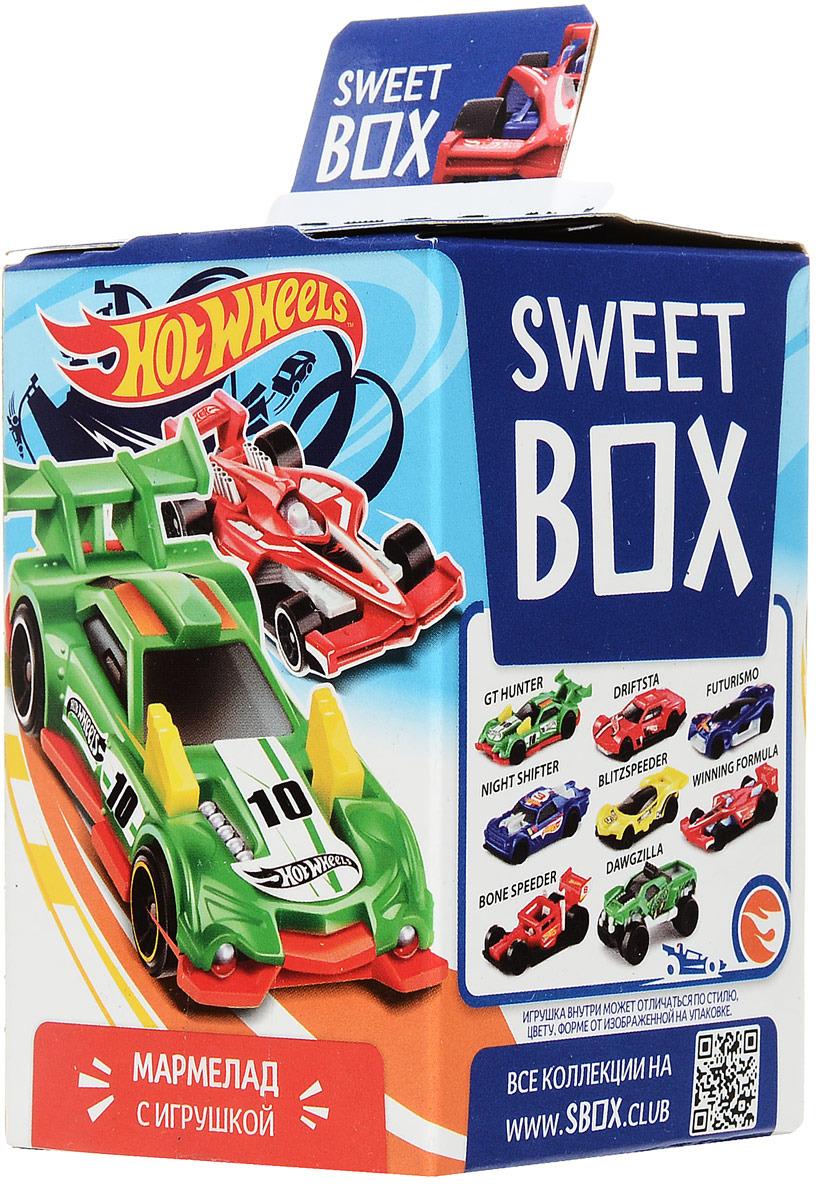 "Sweet Box ""Hot Wheels"" жевательный мармелад с игрушкой, 10 г"