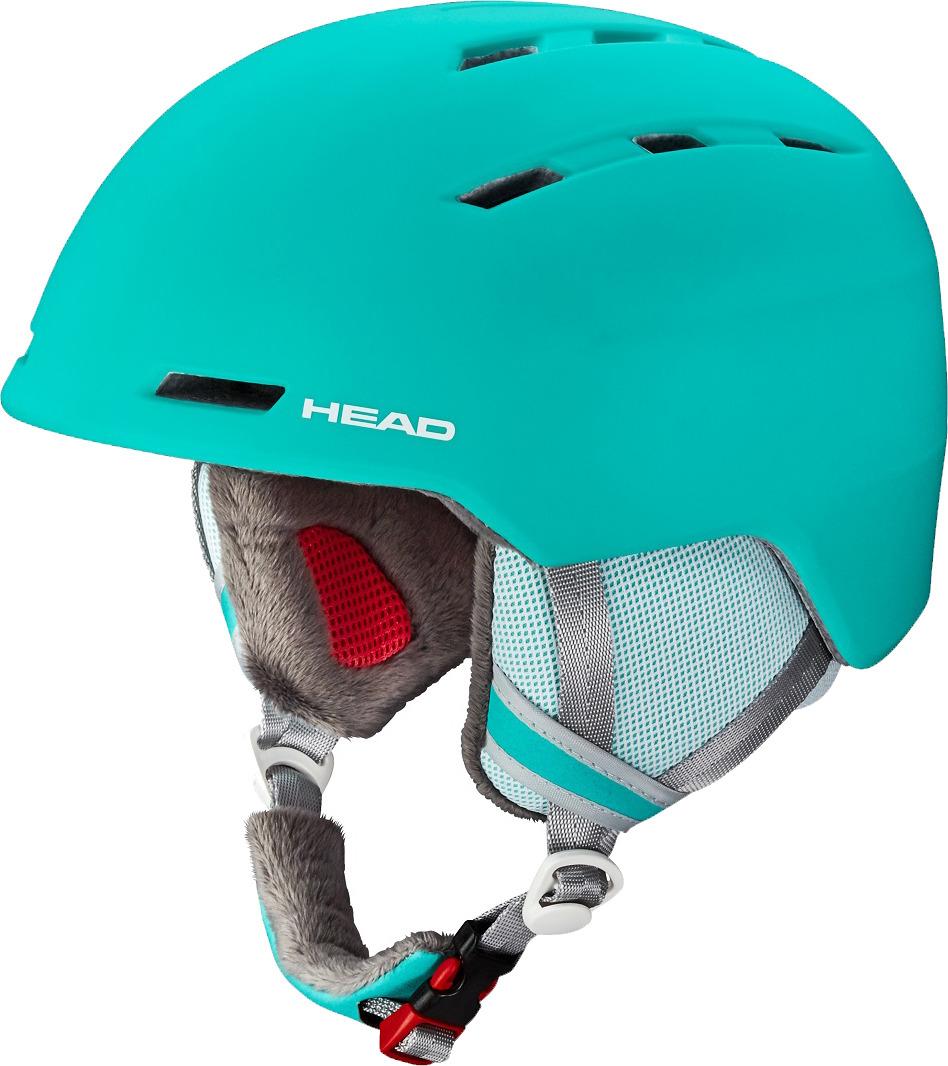 """Шлем для горных лыж и сноуборда Head """"Valery"""", цвет: бирюзовый. Размер M/L"""