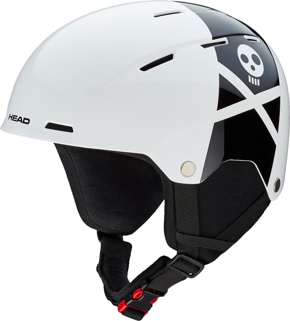 "Шлем для горных лыж и сноуборда Head ""Rebels"", цвет: белый. Размер M/L"