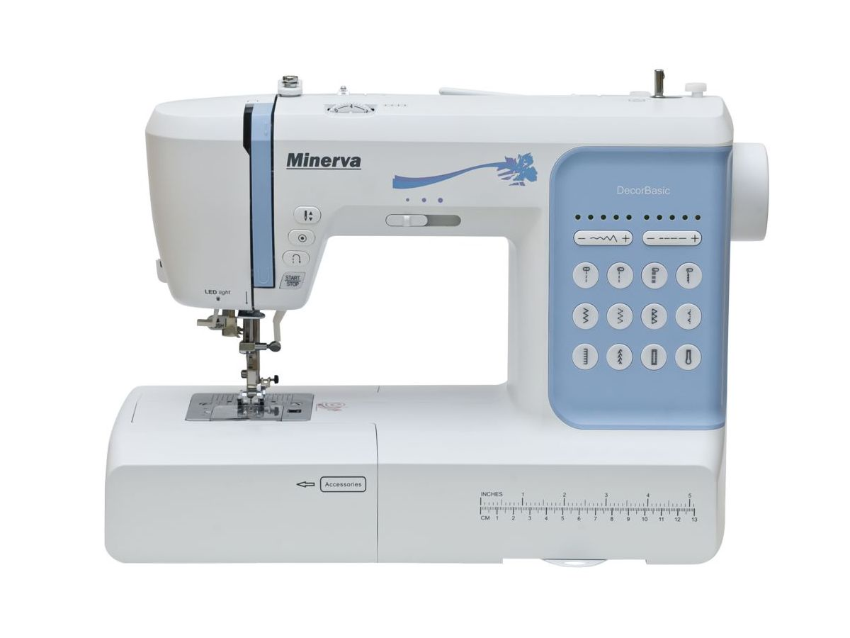 Швейная машина Minerva DecorBasic, белый