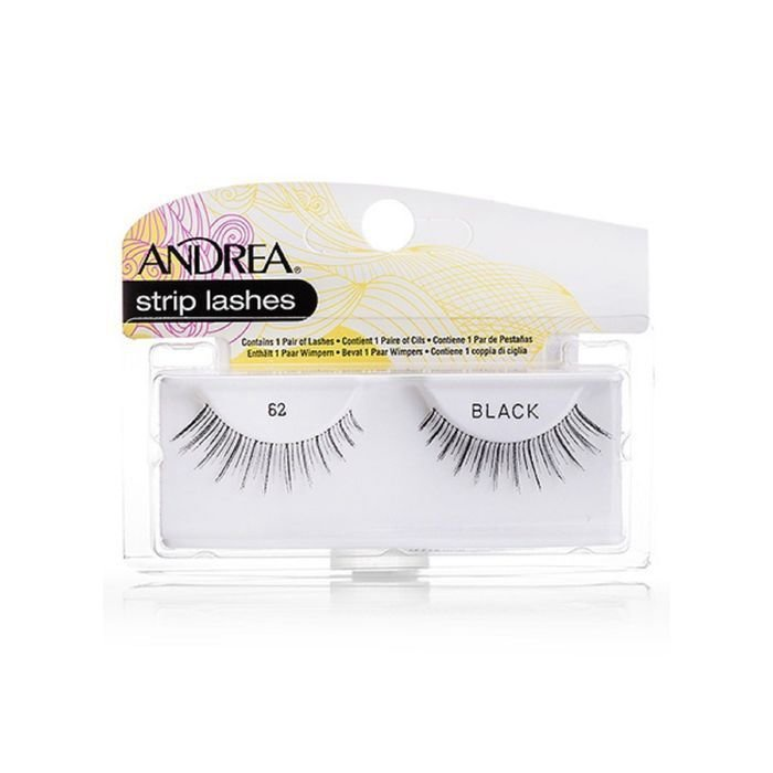 Накладные ресницы Andrea Mod Strip Lashes, цвет: черный. 076-26210
