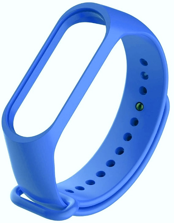 Ремешок силиконовый для фитнес трекера Xiaomi Mi Band 3 темно синий ремешок силиконовый для фитнес трекера roxmi xiaomi mi band 3 зеленый