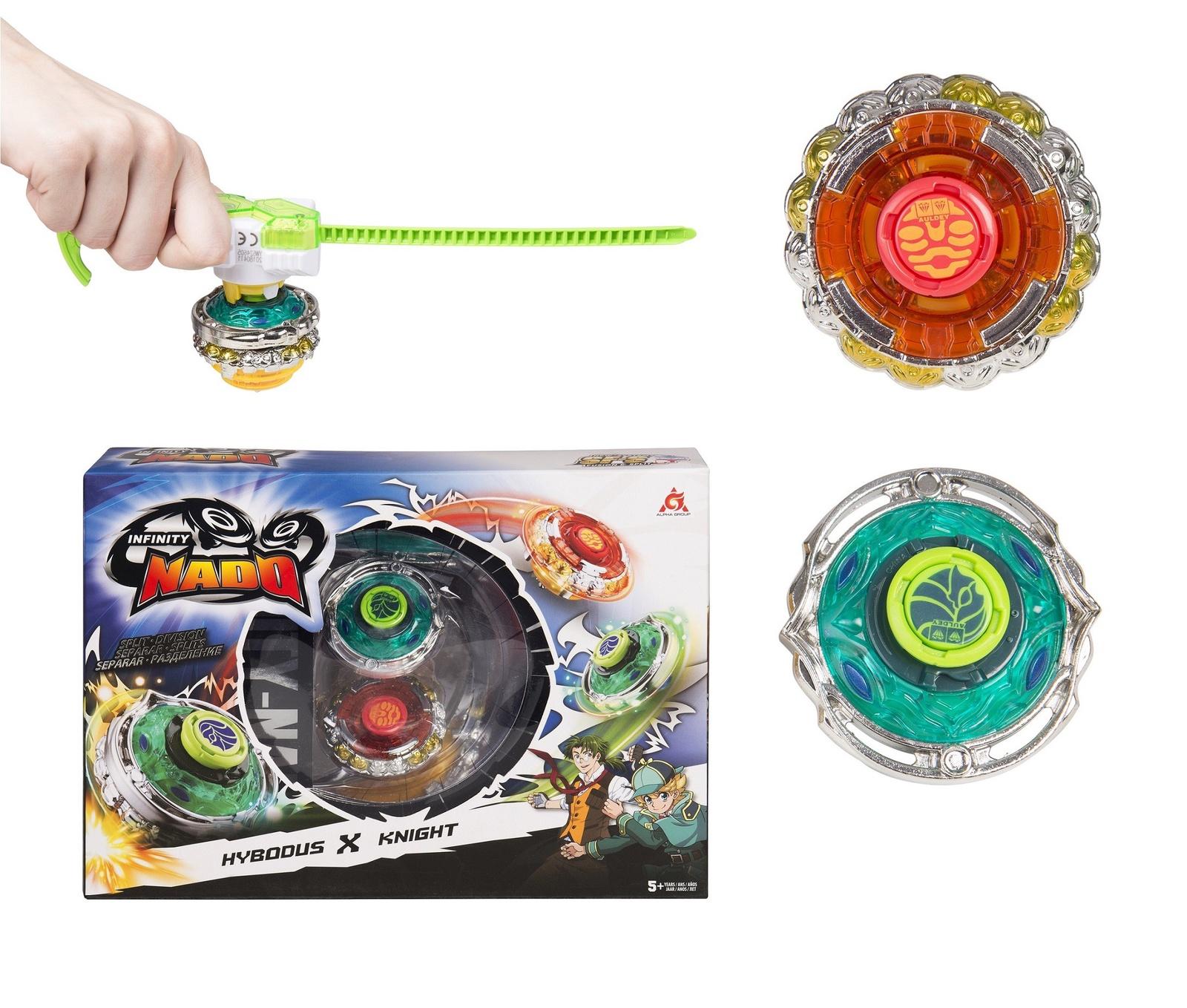 Пусковая игрушка Инфинити Надо Волчок Hybodus&Knight, серия Сплит