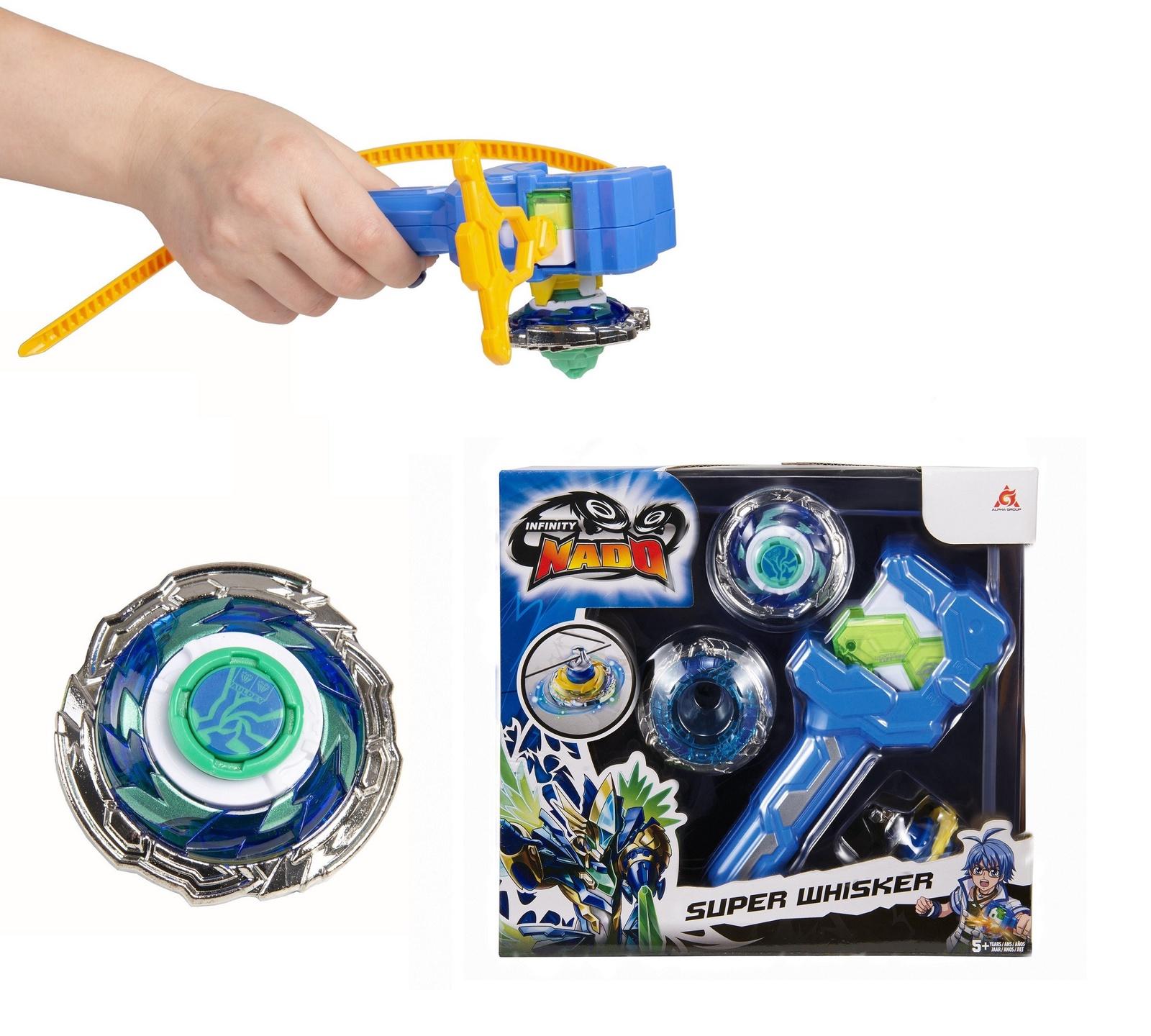 Пусковая игрушка Инфинити Надо Волчок Super Whisker, серия Атлетик