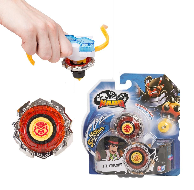 Пусковая игрушка Инфинити Надо Волчок Flame, серия Стандарт
