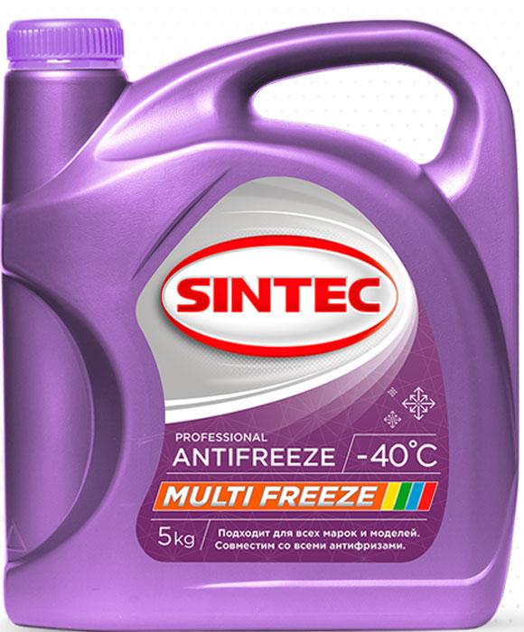 Антифриз Sintec Multifreeze, 5 кг