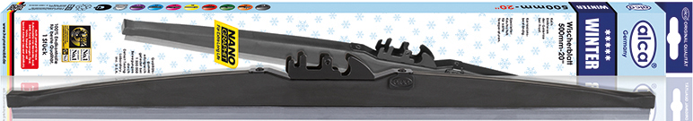 Щетки стеклоочистителя Alca, специальная, каркасная, зимняя, 13/33 см щетки стеклоочистителя alca super flat maxx 450mm 250180