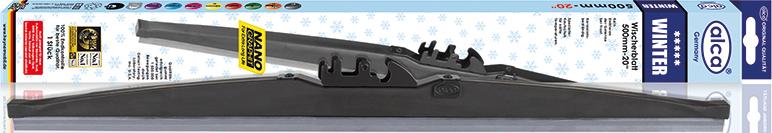 Щетки стеклоочистителя Alca, специальная, каркасная, зимняя, 20/50 см цены онлайн