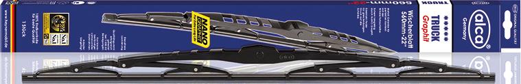 Щетки стеклоочистителя Alca, каркасные, для грузовиков, 24/60 см щетки стеклоочистителя alca super flat maxx 450mm 250180