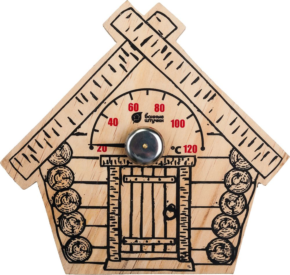 Банный декор термометр Банные штучки Парилочка, 17 х 16 см банный декор банные штучки аксессуары для бани белый