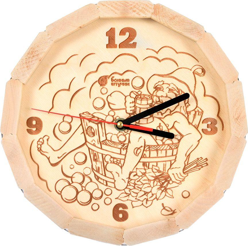 Банный декор часы Банные штучки В парилке, 27 х 8 см банный декор банные штучки аксессуары для бани белый