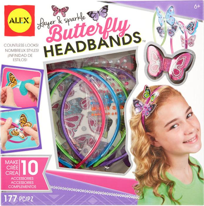 Набор для создания украшений Alex Блестящие бабочки alex alex набор для творчества плетение браслетов фенечек неоновое сияние