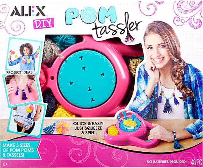 Набор для изготовления игрушки Alex Помп Тасслер alex alex набор для творчества сделай сам браслеты фенечки бро