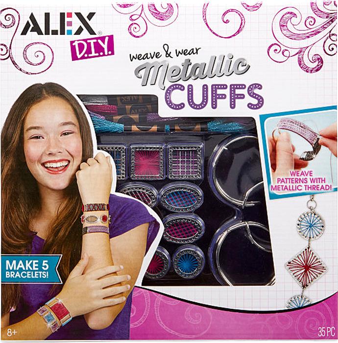 Набор для создания украшений Alex Металлические браслеты браслеты