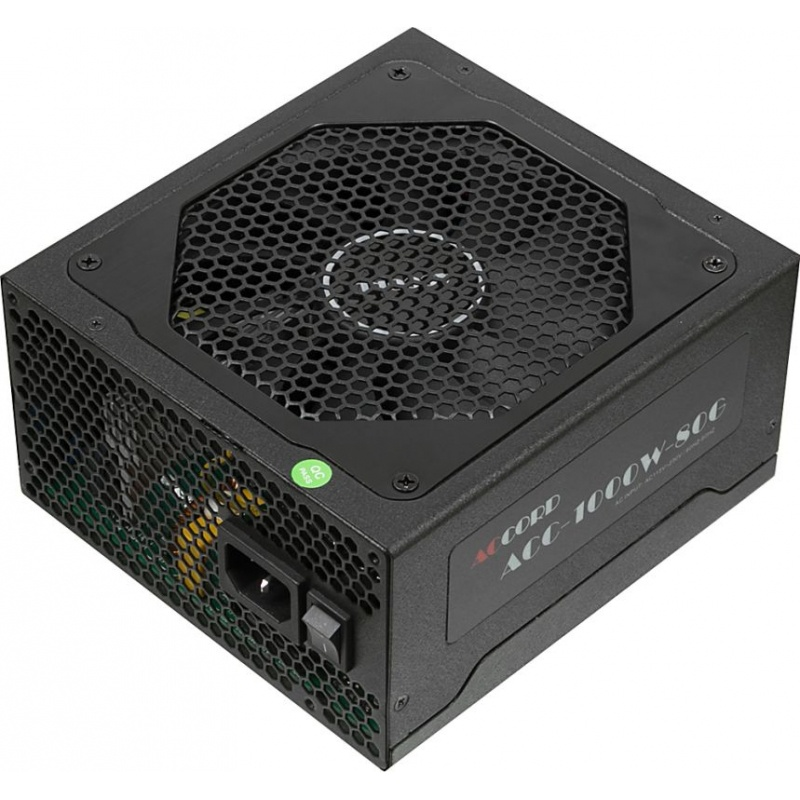 Блок питания компьютера ACCORD MER1000G050118