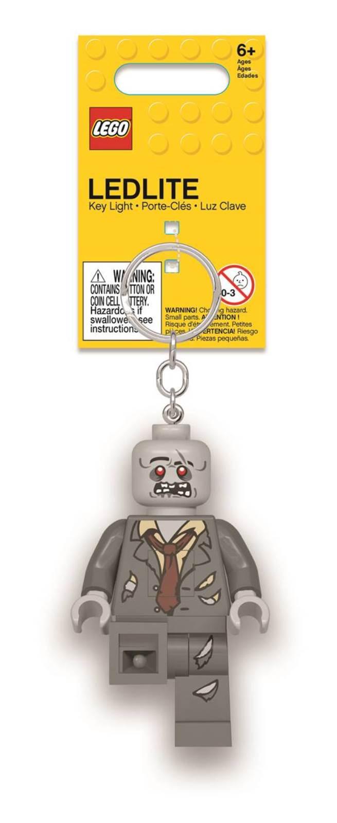 Брелок-фонарик LEGO Zombie. LGL-KE135