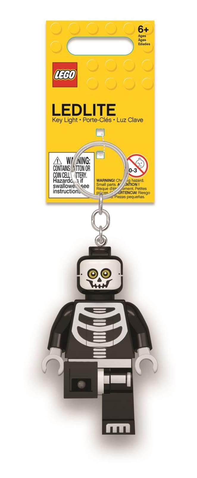 Брелок-фонарик LEGO Skeleton. LGL-KE137
