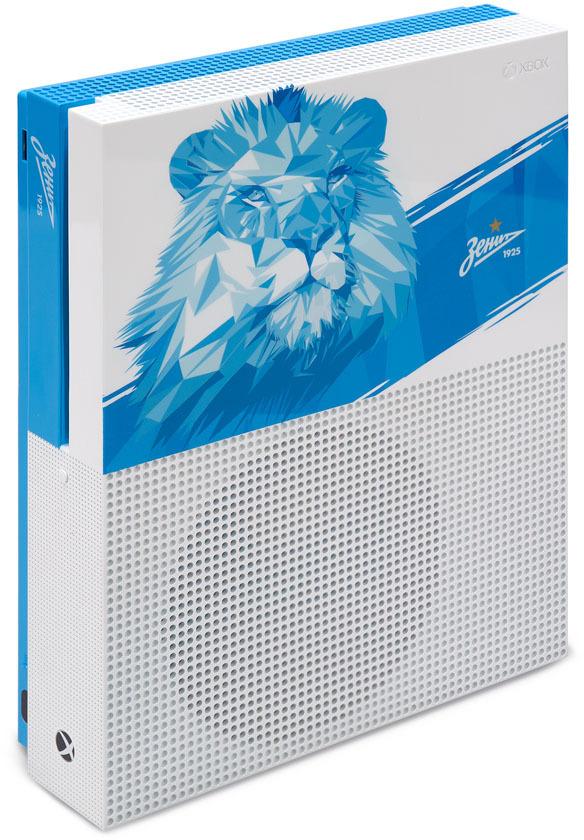 Игровая приставка Xbox One S Zenit Lion, 500 ГБ игровая консоль microsoft xbox one s 1 тб [234 00311] игра playerunknown s battlegrounds