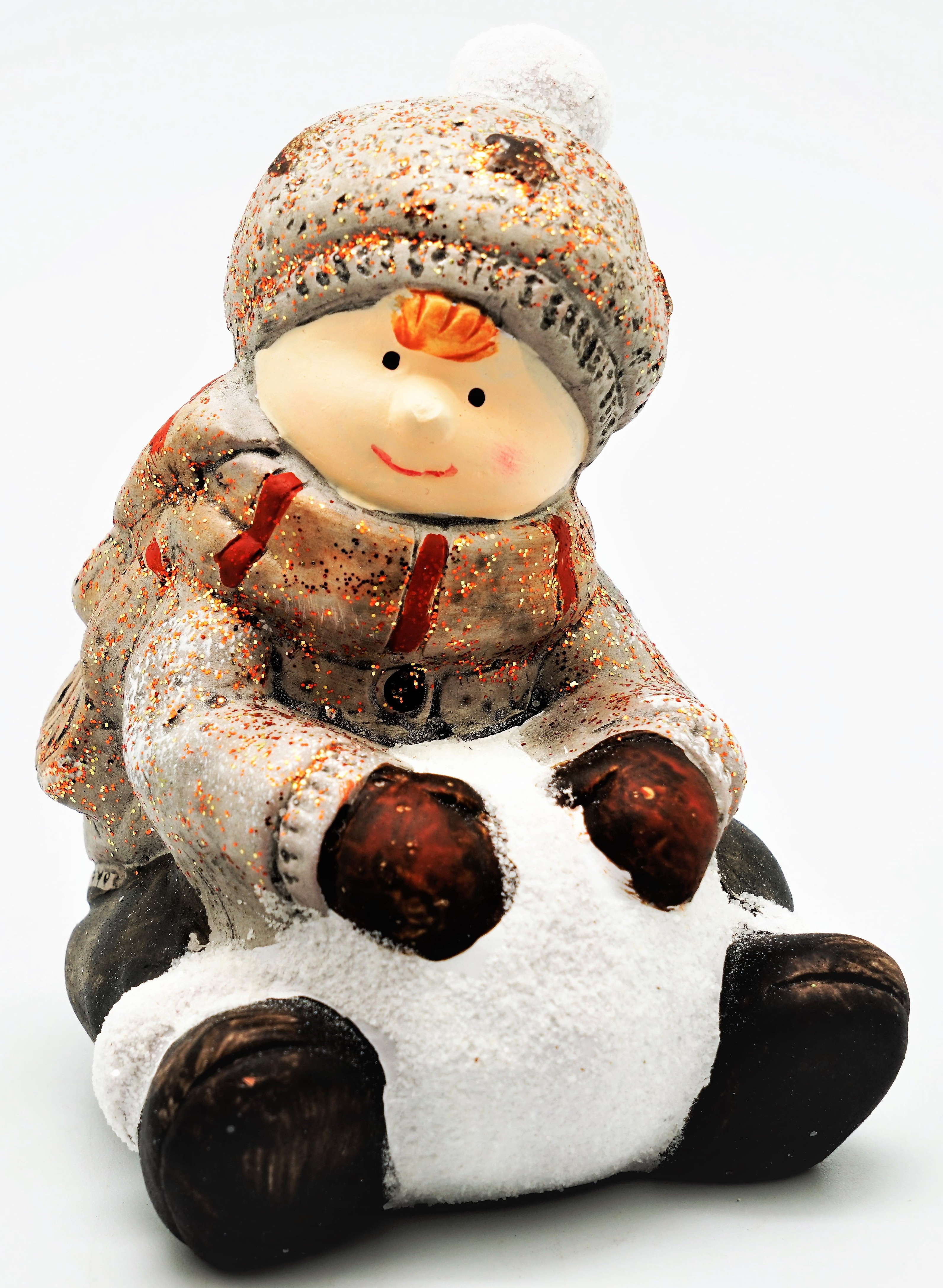 Сувенир Яркий Праздник Мальчик со снежком, 10 х 9 х 13,5 см лекарство валз 80 инструкция