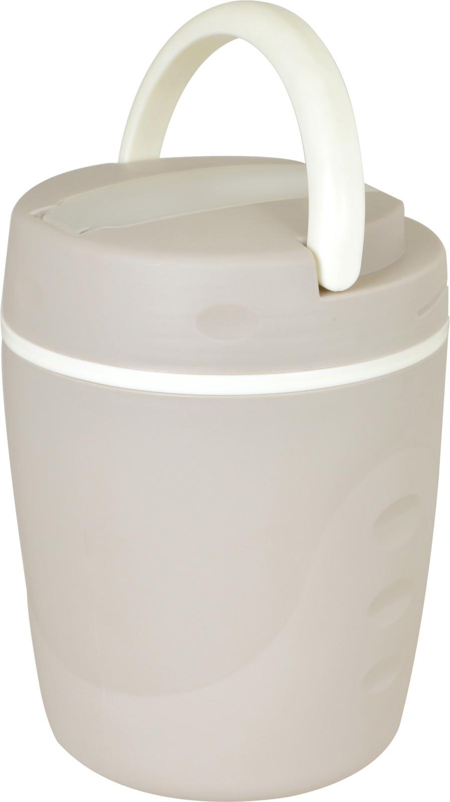 Термос-контейнер Mallony, цвет: белый, 1 л контейнер пластиковый 1 8 л comboez контейнер пластиковый 1 8 л