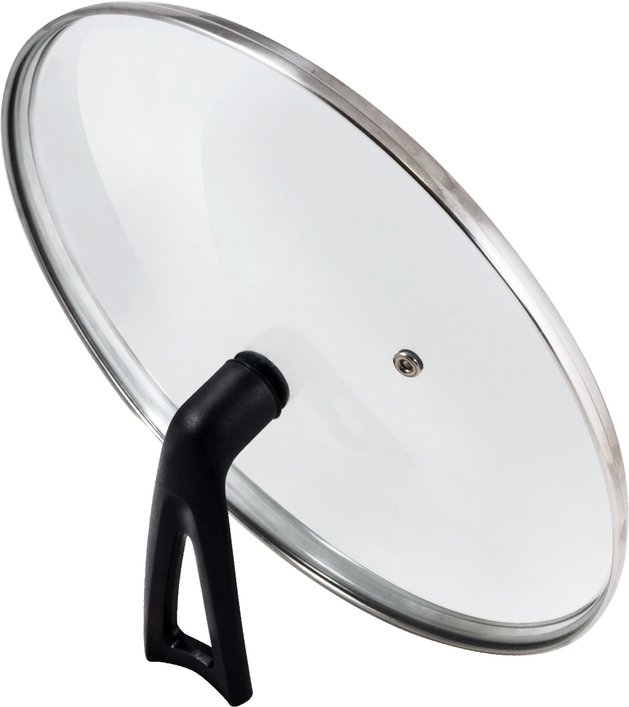 Крышка Mallony Vetro-Special, с бакелитовой ручкой, диаметр 24 см крышка васильевское стекло 4924 24 см стекло
