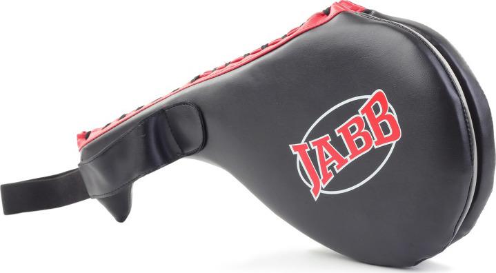 Хлопушка боксерская Jabb JE-2799, двойная, цвет: черный, красный цена