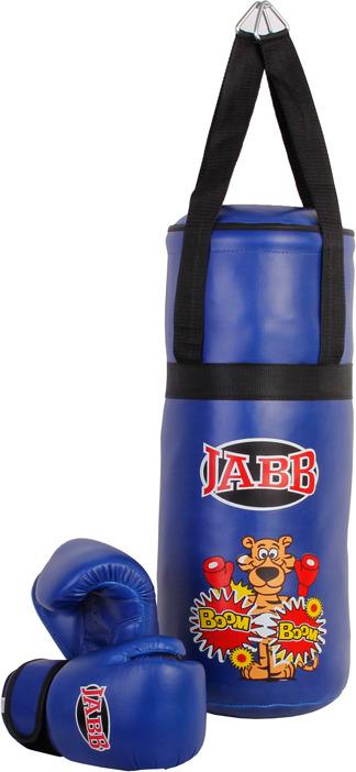 Набор для бокса Jabb JE-3060, детский, груша и перчатки, цвет: синий цена