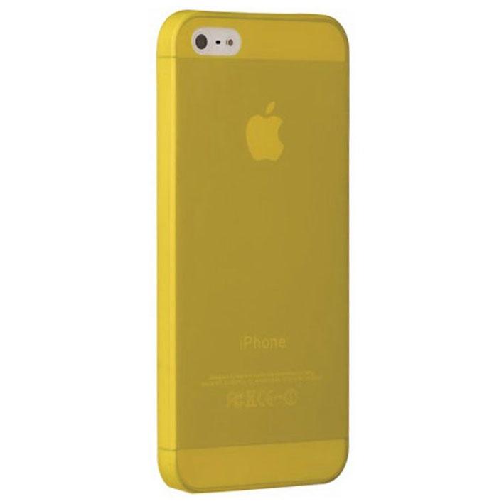 лучшая цена Чехол Ozaki для iPhone 5 MK-1-10, пластиковый, цвет: желтый